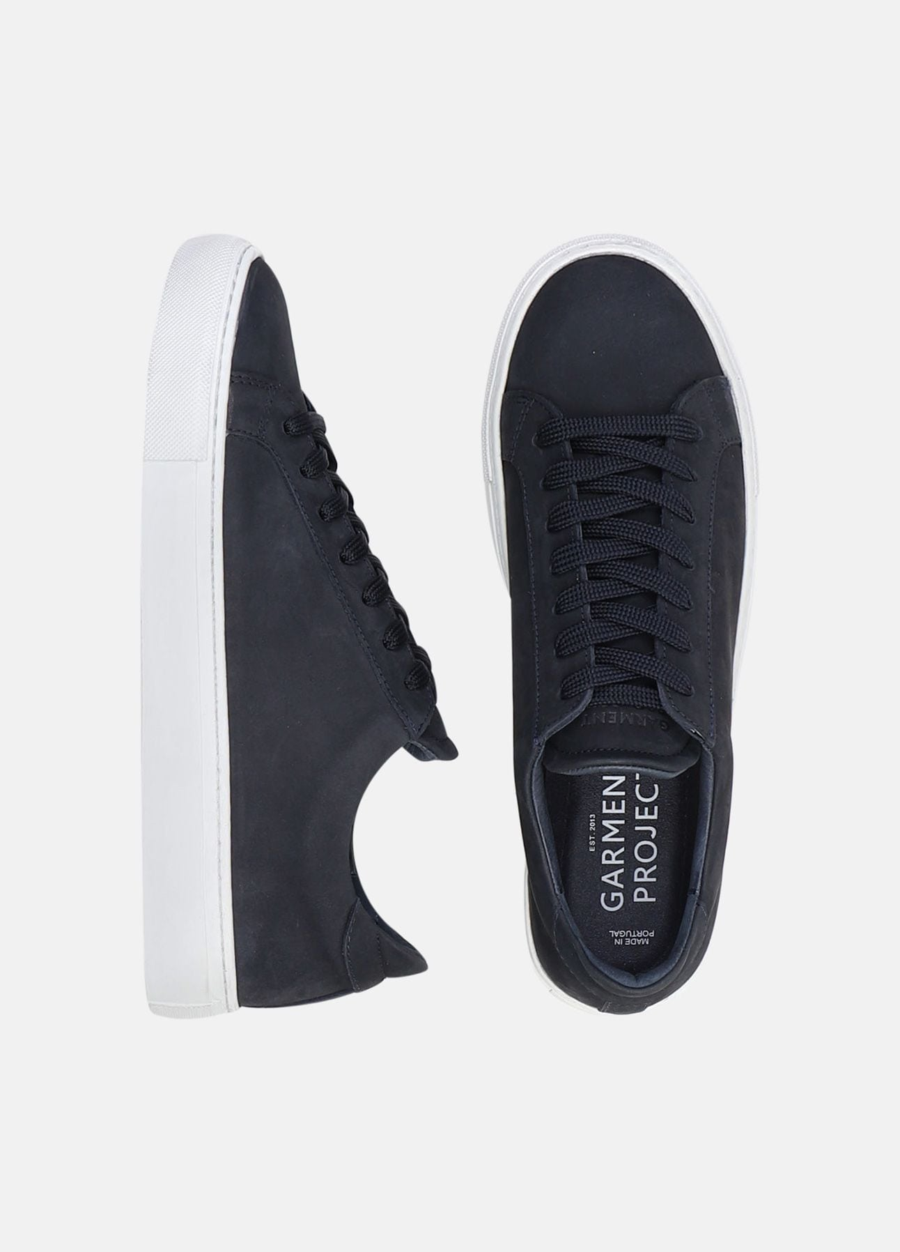 Navy Type sneakers fra Garment Project