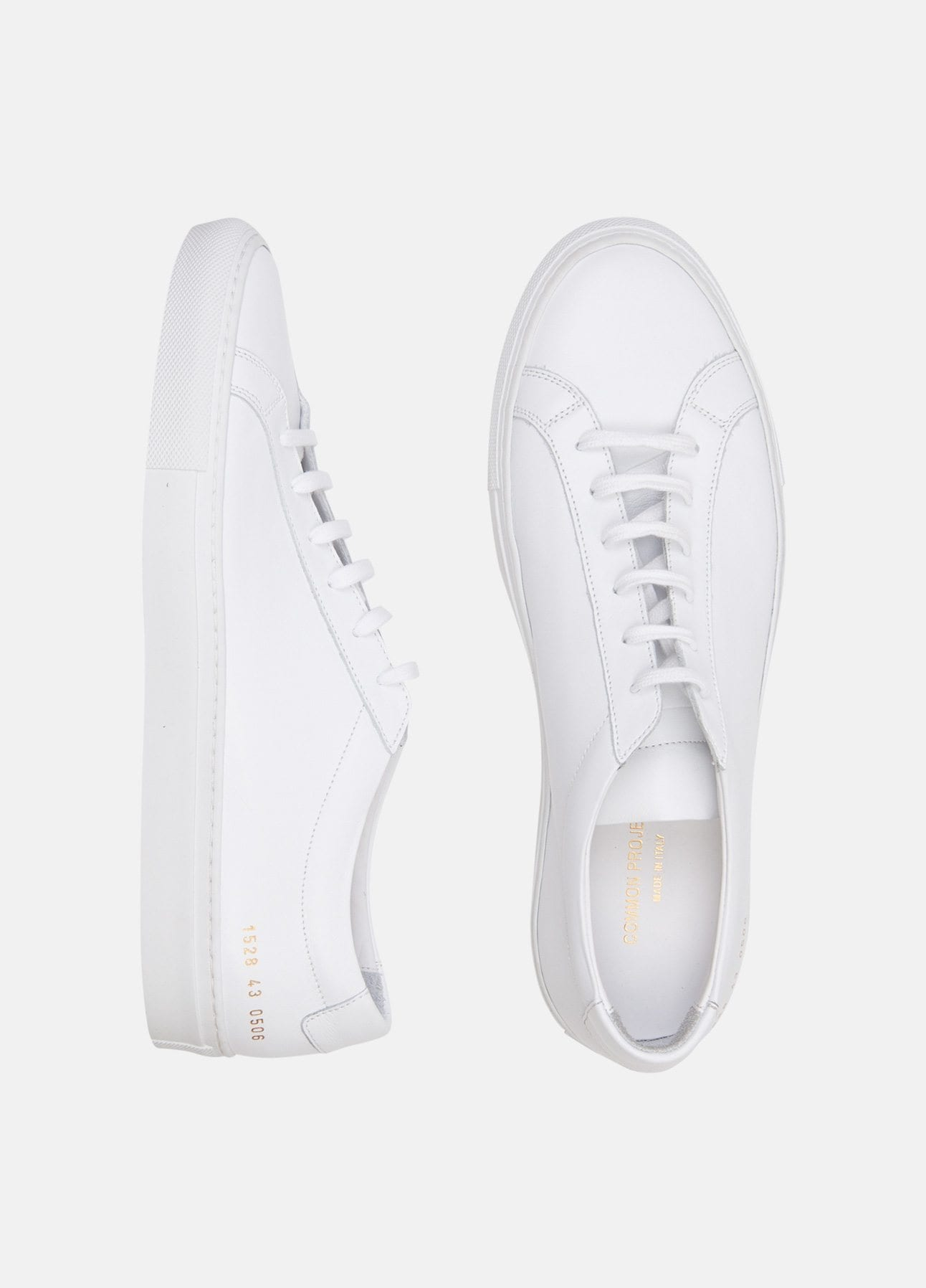 Hvide sneakers fra Common Projects