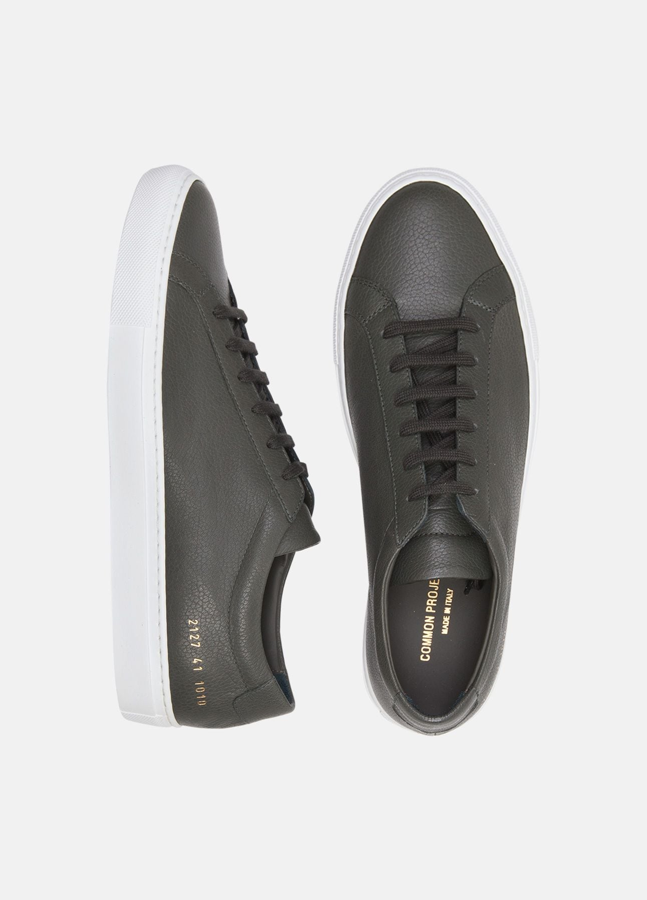 Grønne sneakers fra Common Projects