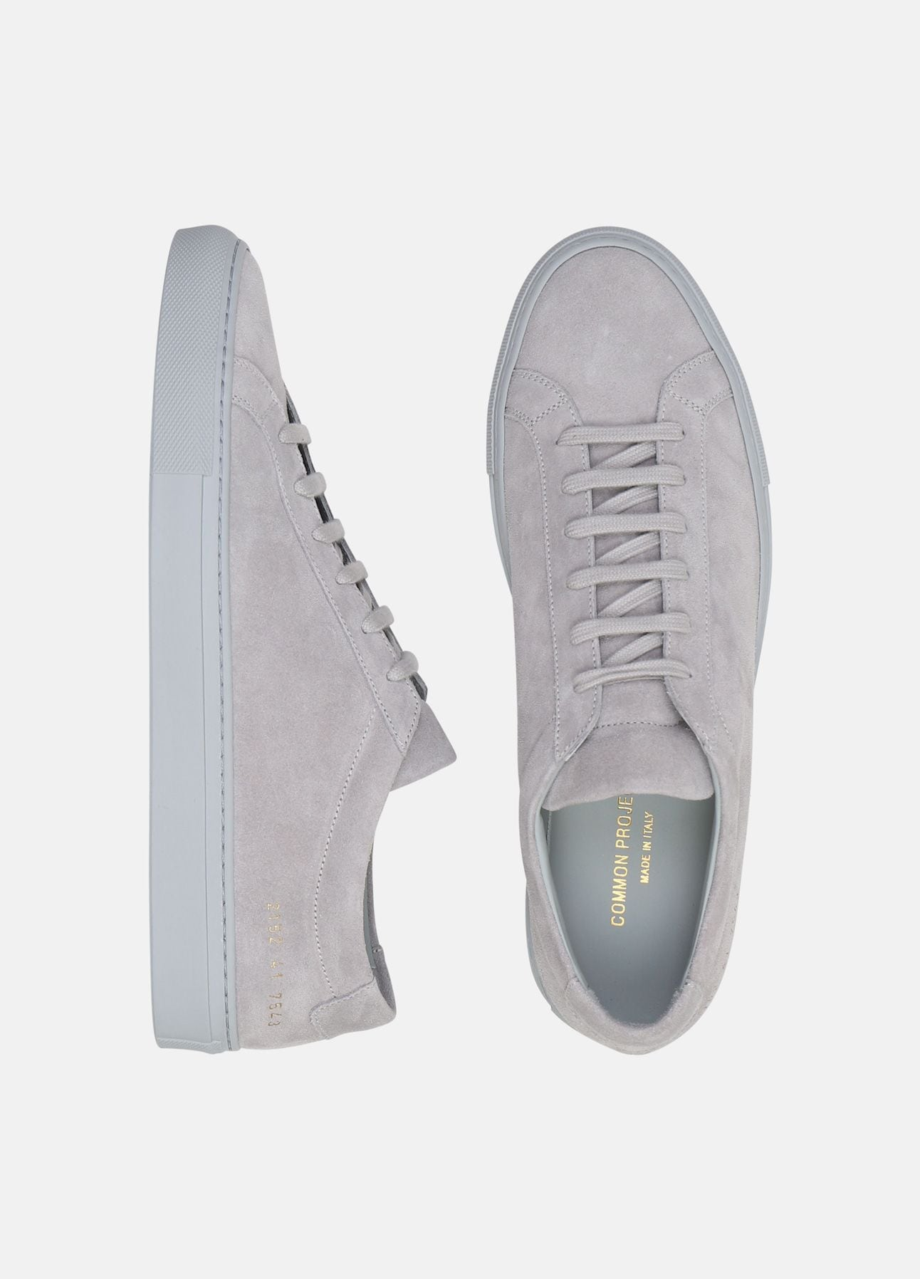 Grå Original Achilles Low sneakers fra Common Projects