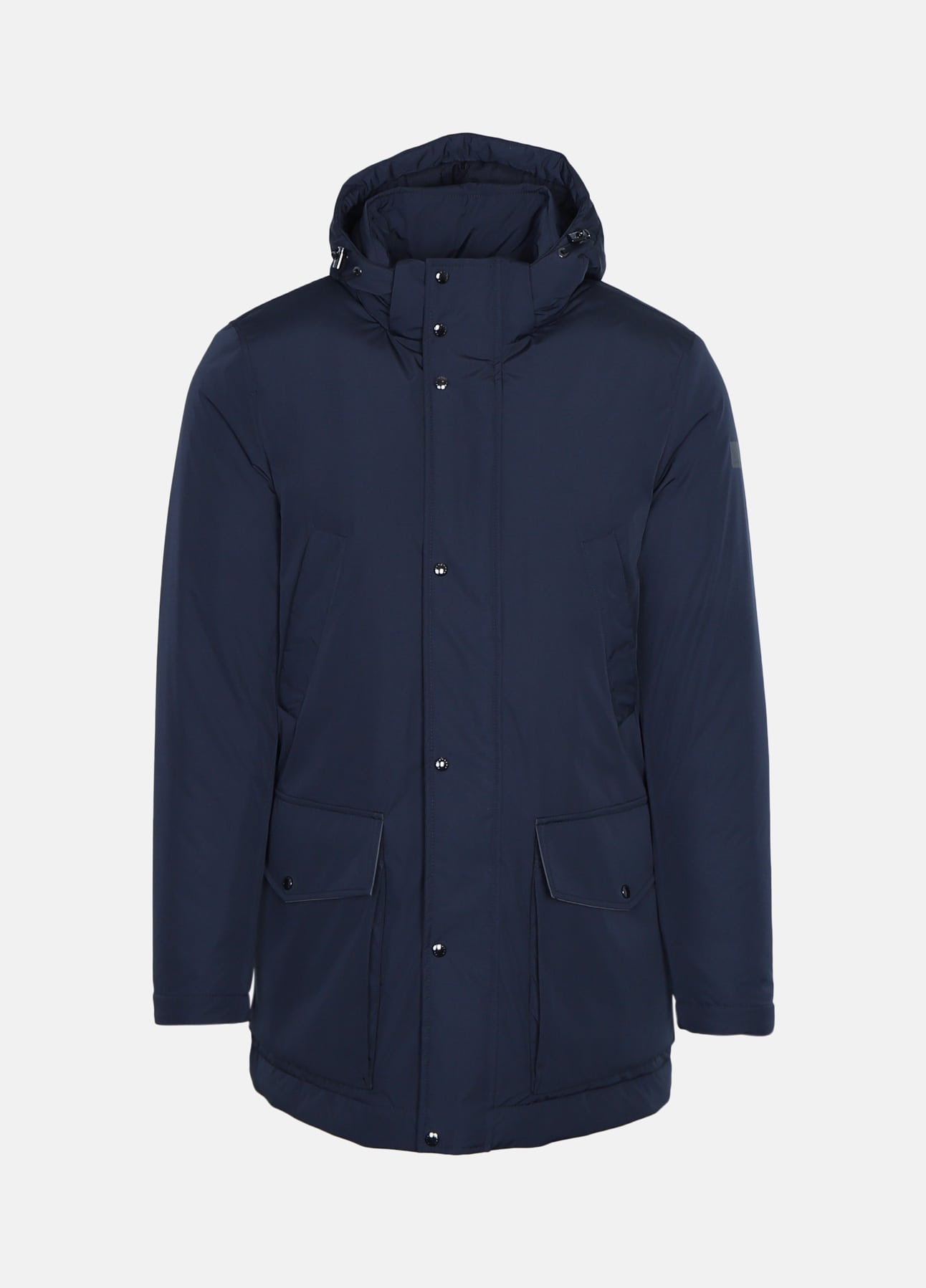 Navy Typhoon Parka fra Paul & Shark