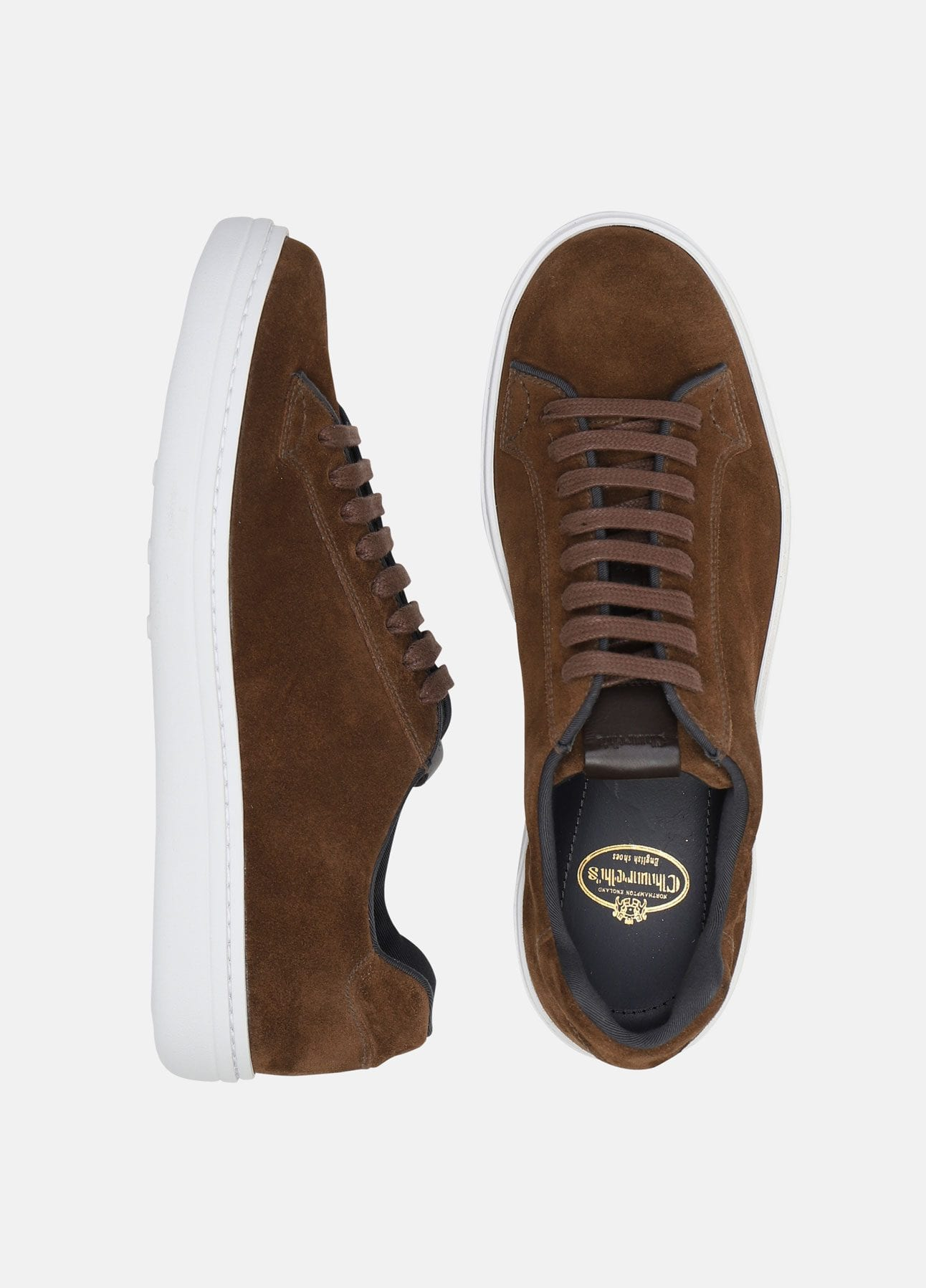 brun mirfield sneakers fra church's