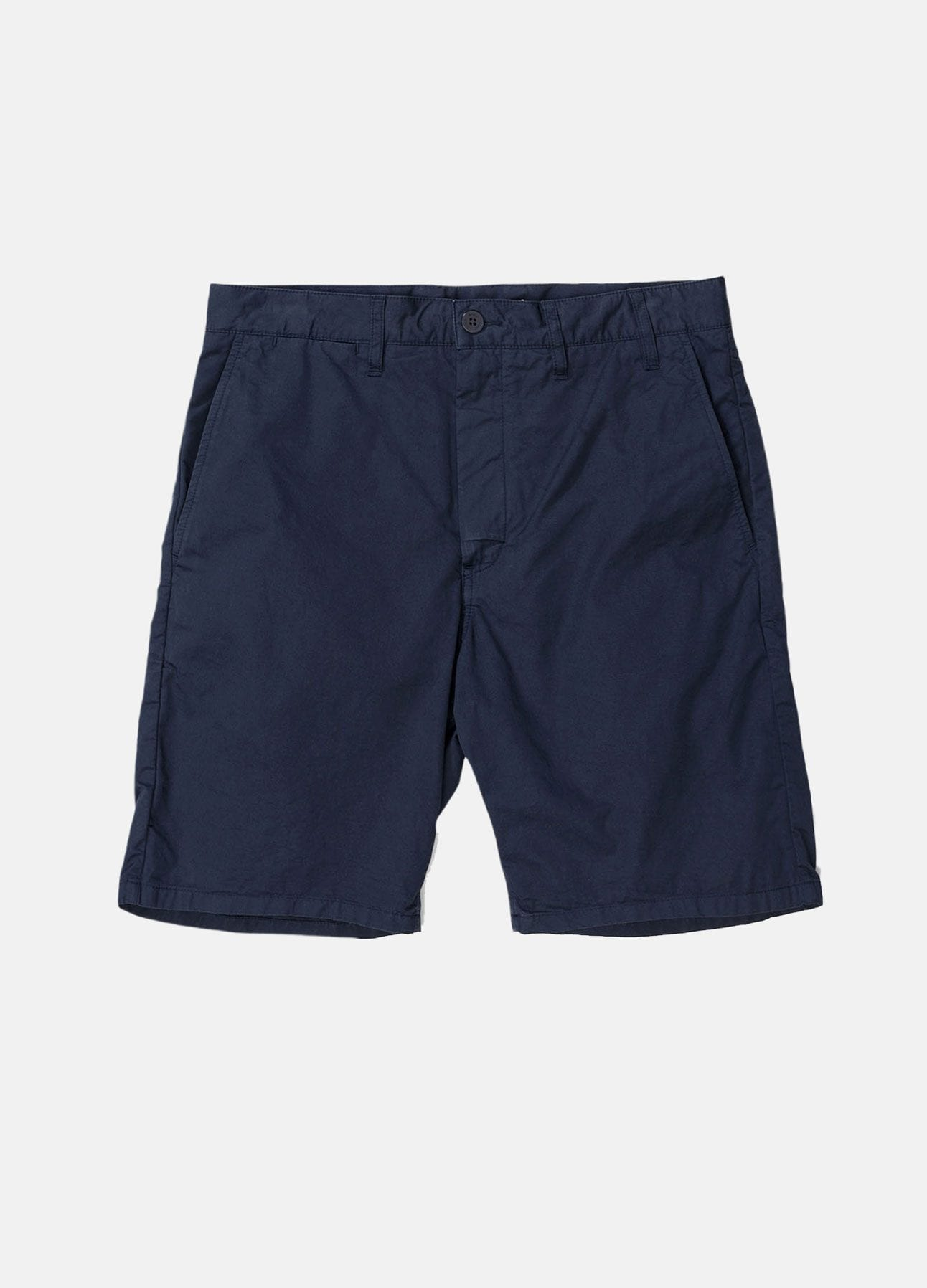 navy aros light twill shorts fra norse projects