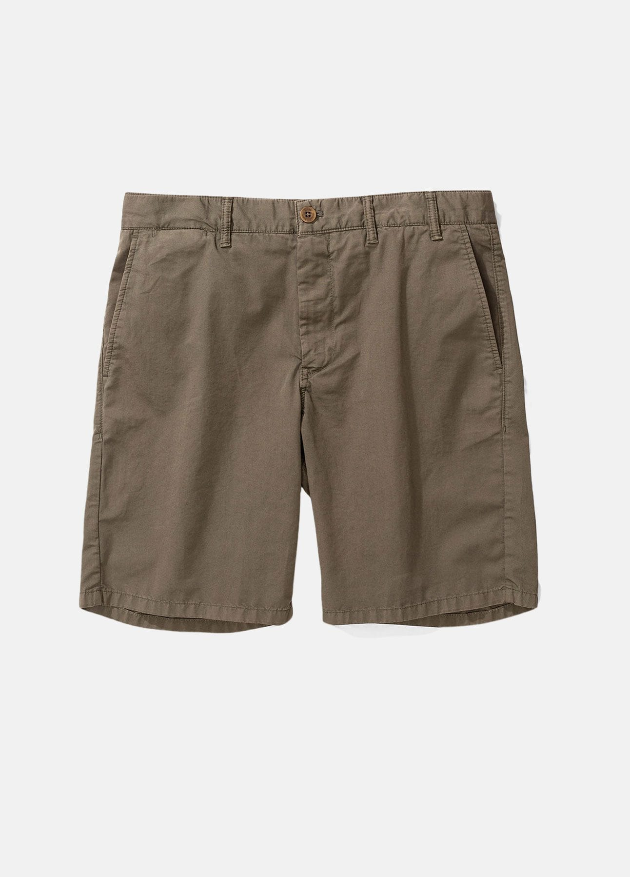 grøn aros light twill shorts fra norse projects