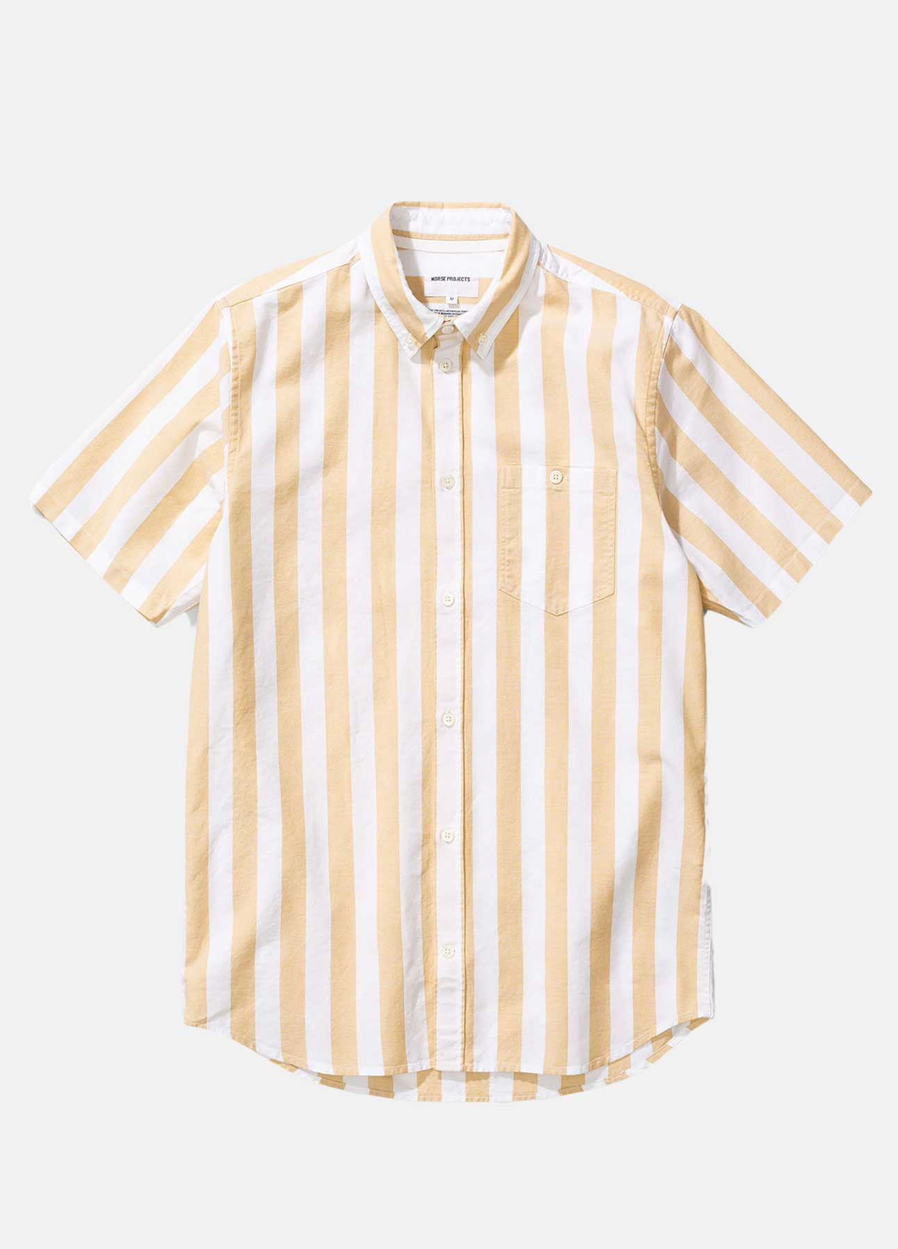 Gul & Hvid Theo Oxford skjorte fra Norse Projects