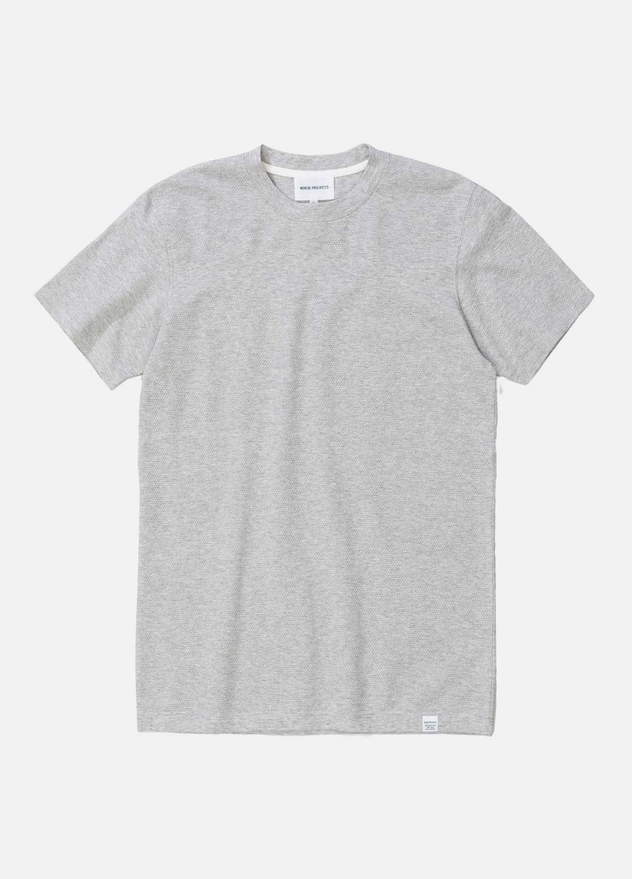 grå niels bubble t-shirt fra norse projects