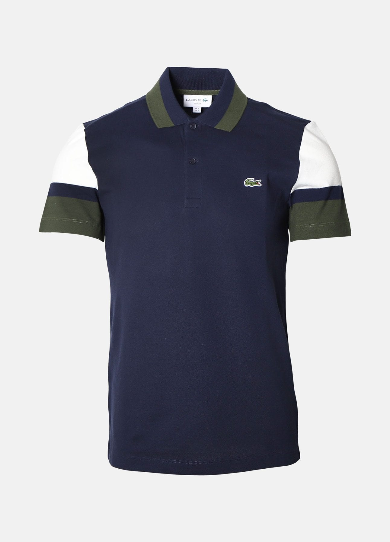 Navy Slim fit polo fra Lacoste