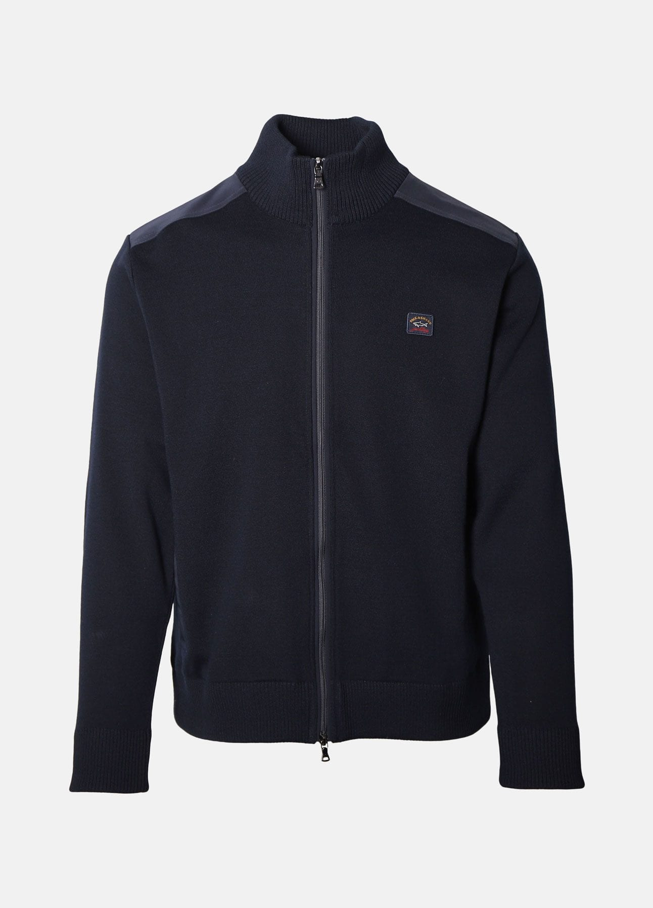 Navy Full zip strik fra Paul & Shark