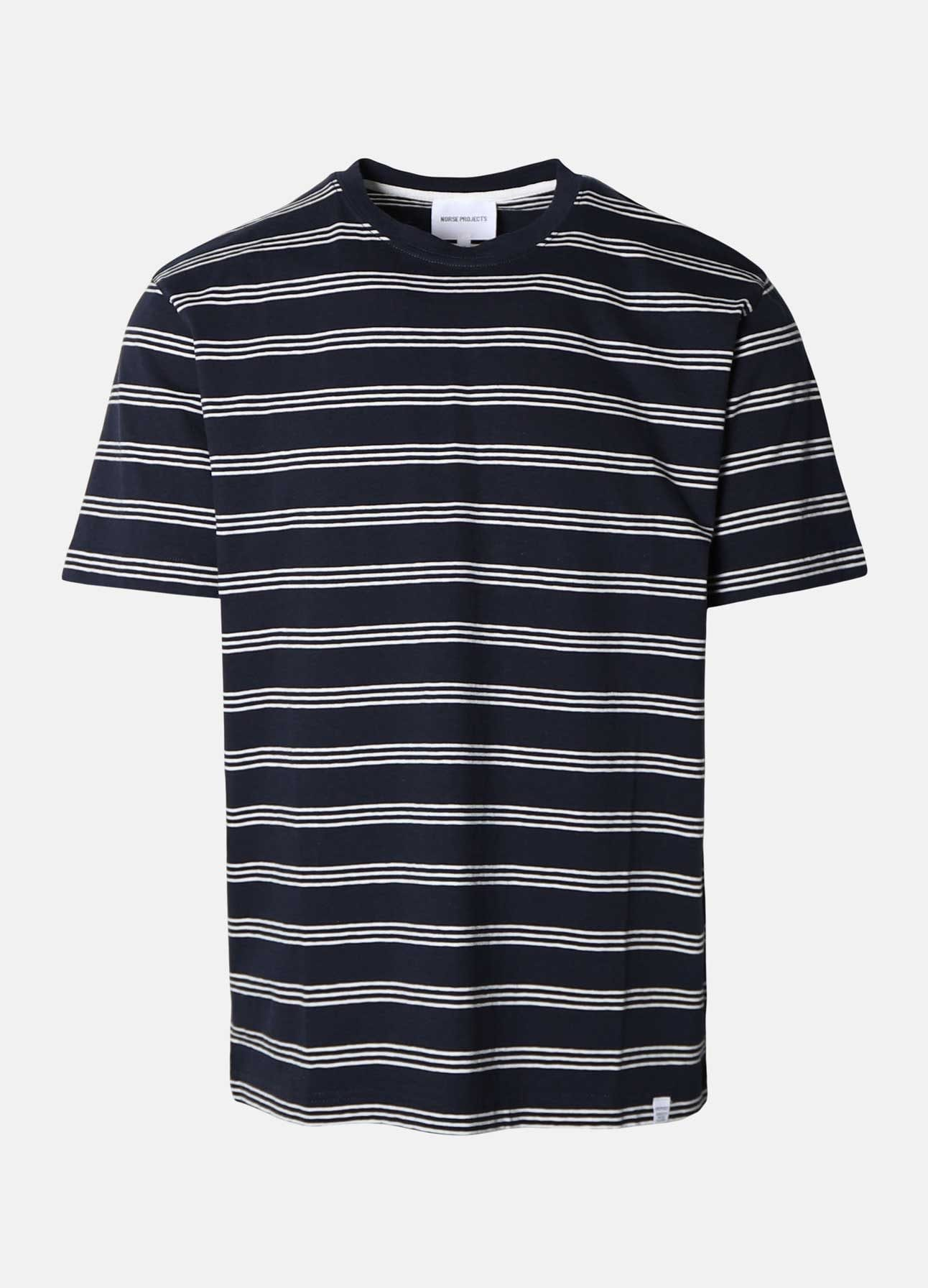 Navy Johannes t-shirt fra Norse Projects