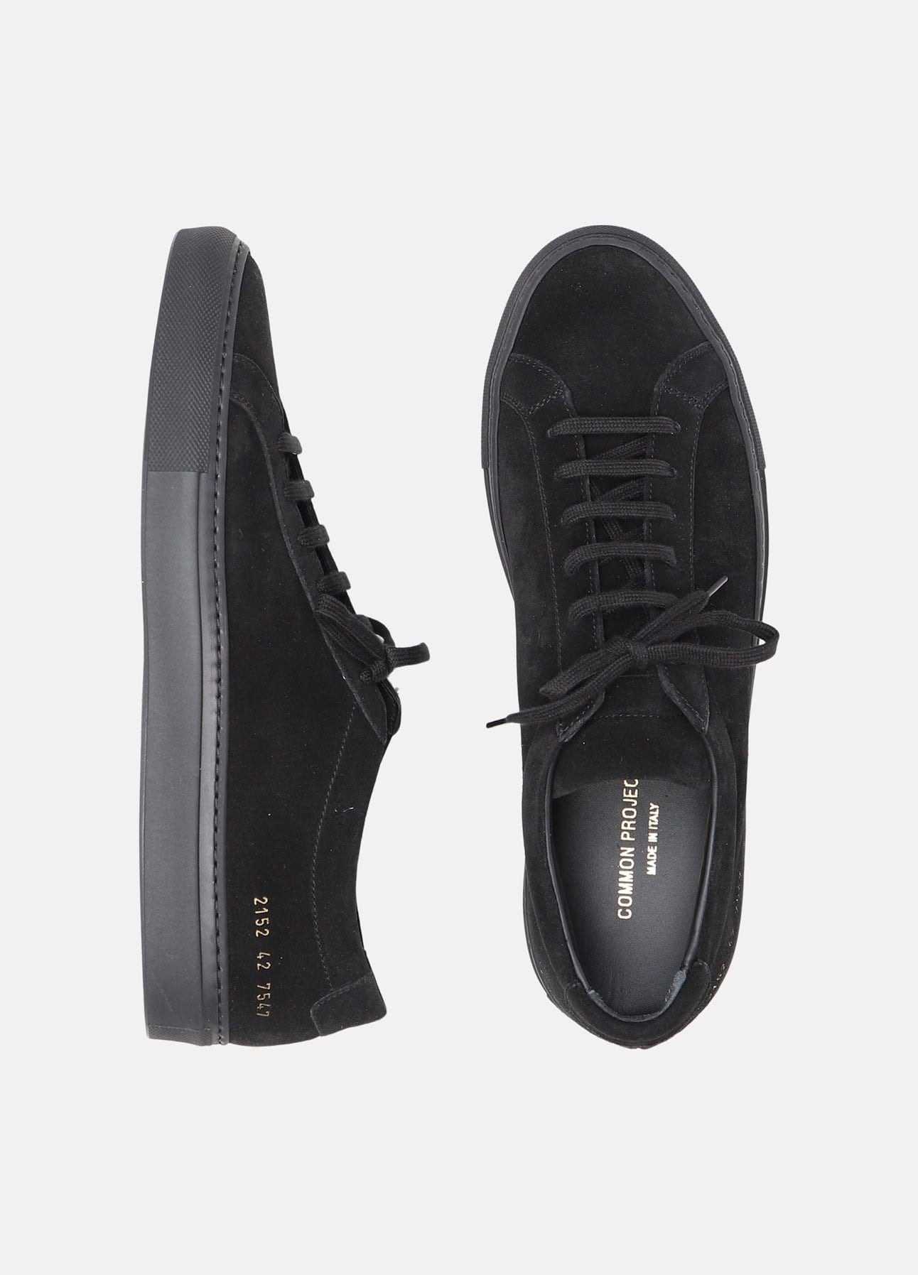 Sort sneaker fra Common Projects