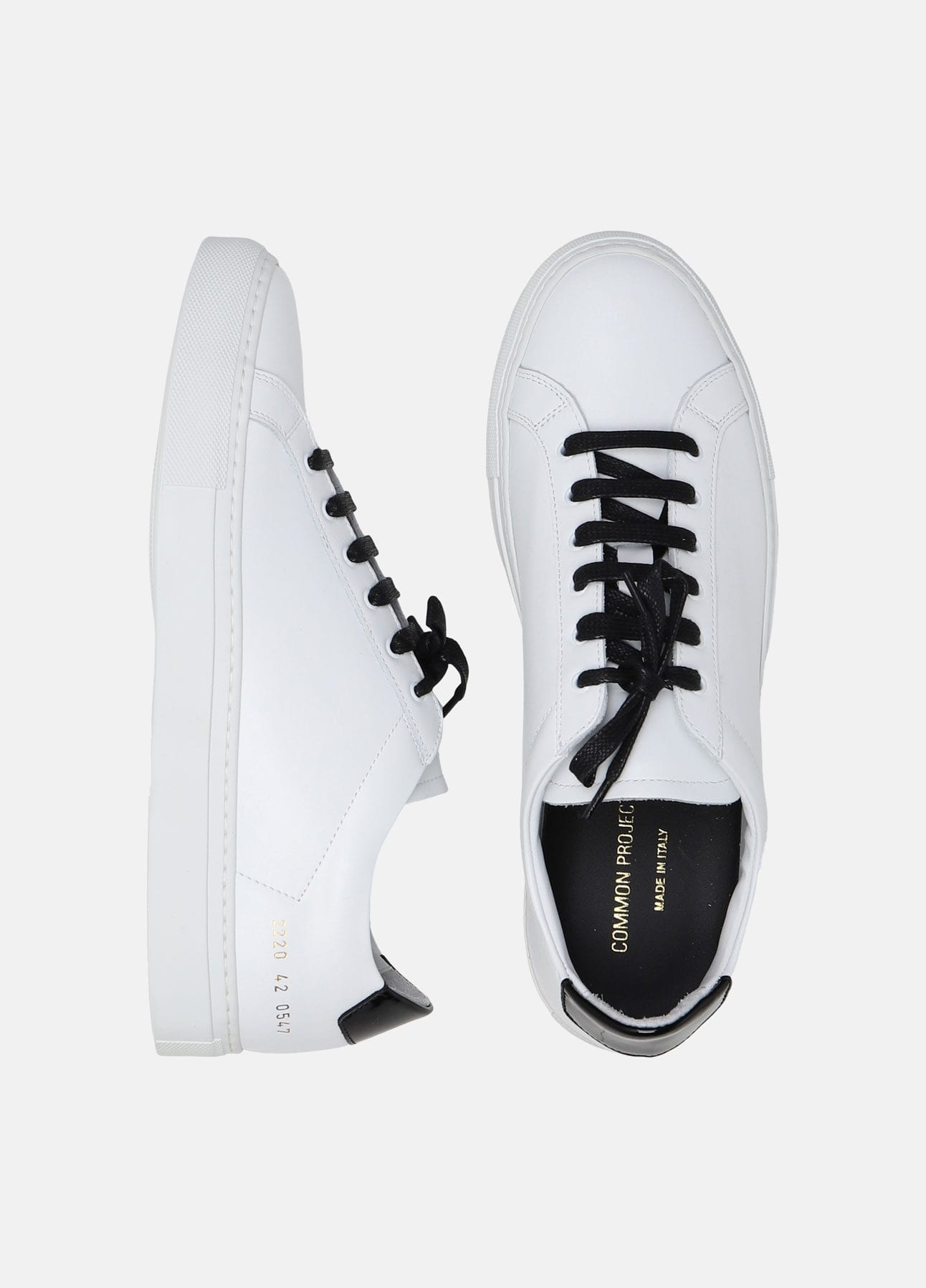 Hvid sneaker fra Common Projects