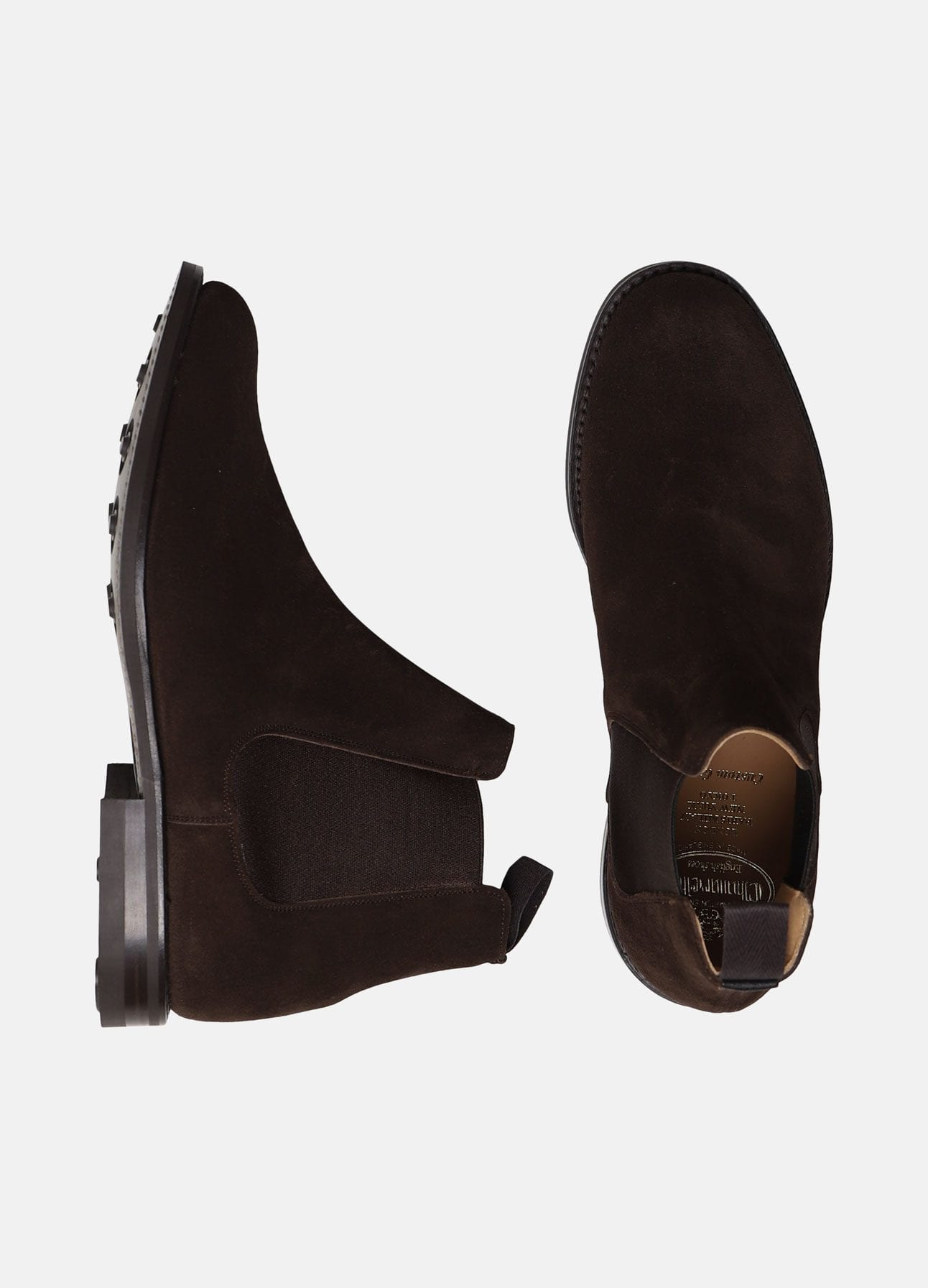 Brun chelsea boot fra Church's