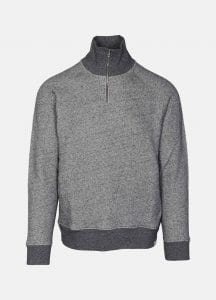 Norse projects sweatshirt alfred dark grey ps20