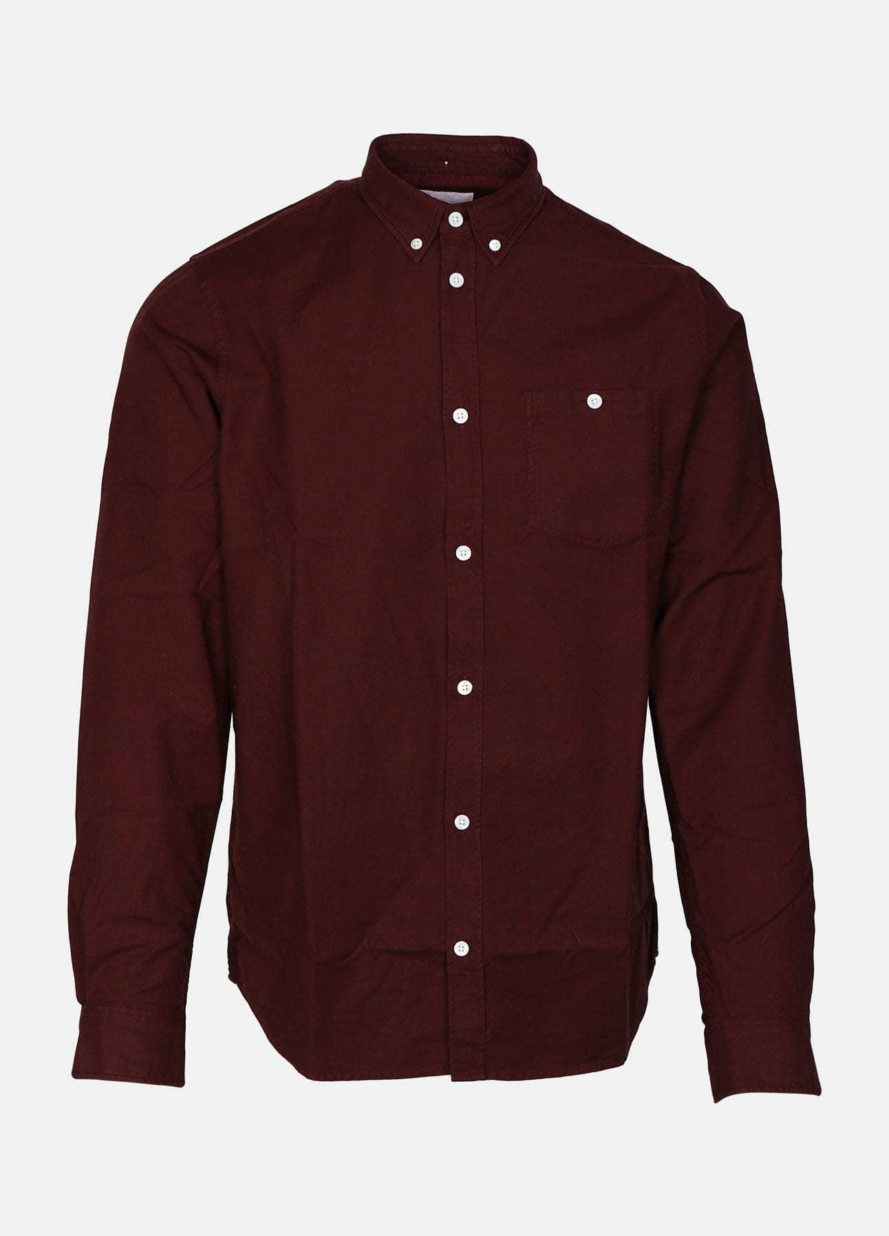 Norse projects anton skjorte mulberry red ps20