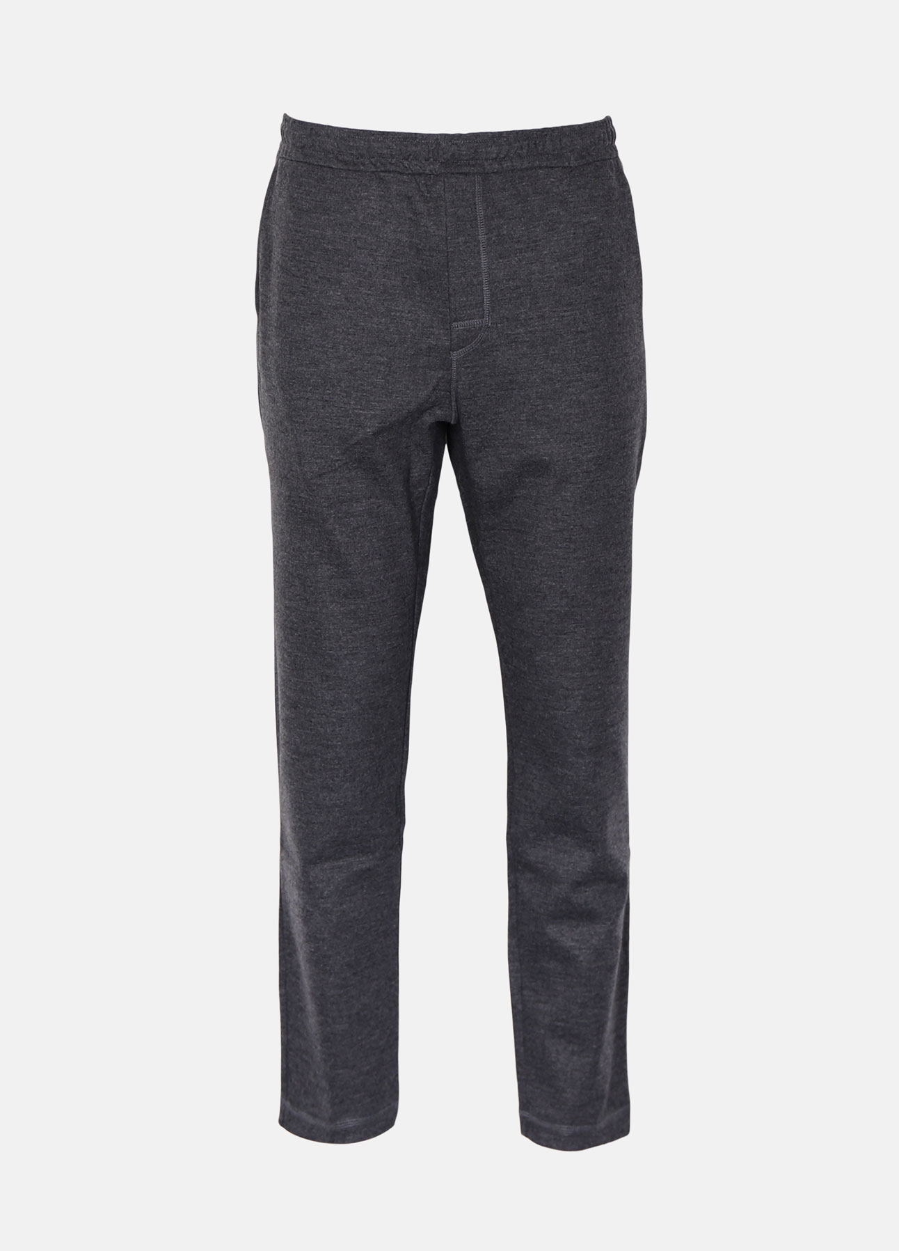 Norse Projects bukser falun wool charcoal mel aw19